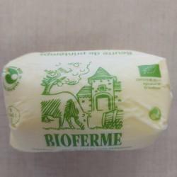 Beurre de printemps baratté...