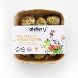 Falafels lentille corail,...