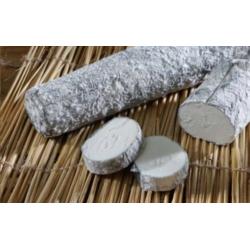 Sainte Maure cendrée (450 gr)