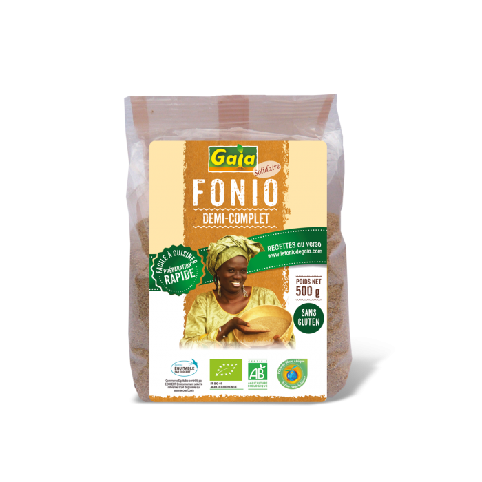 Fonio 1/2 complet (500 g)
