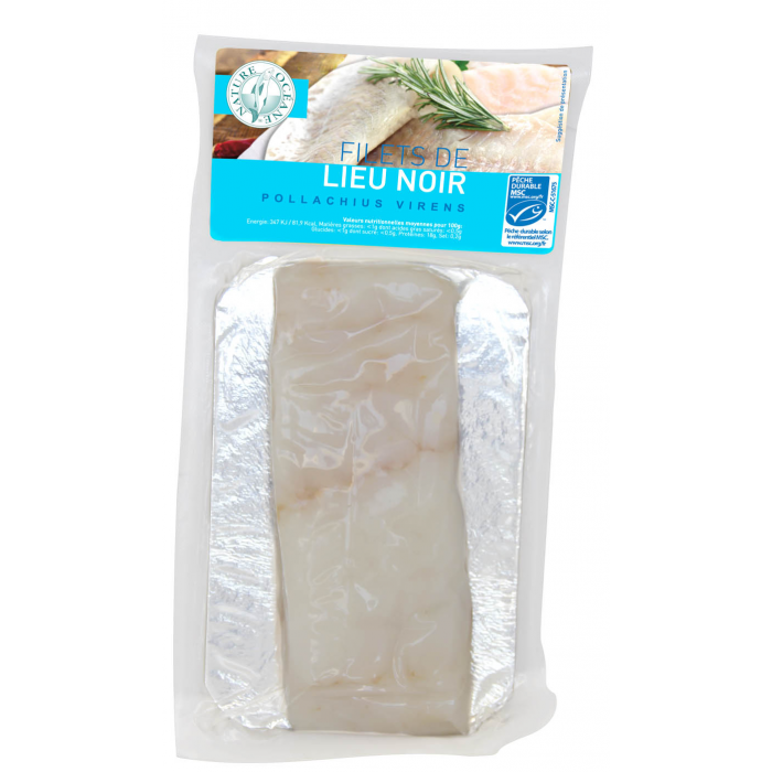 Filet de lieu noir MSC (200gr)