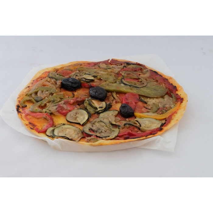 Pizza vegan sans gluten