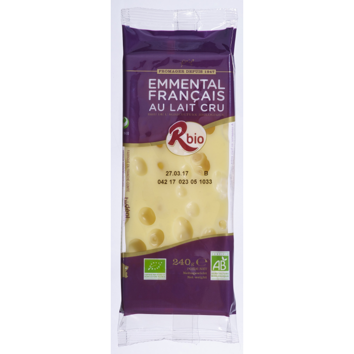 Emmental portion 240 g