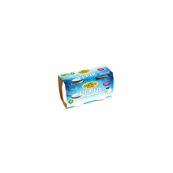 Kéfir nature lait écrémé de vaches Jersiaires 2*125 gr
