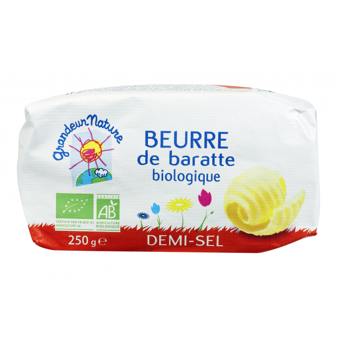 Beurre 1/2 sel GN (250 g)