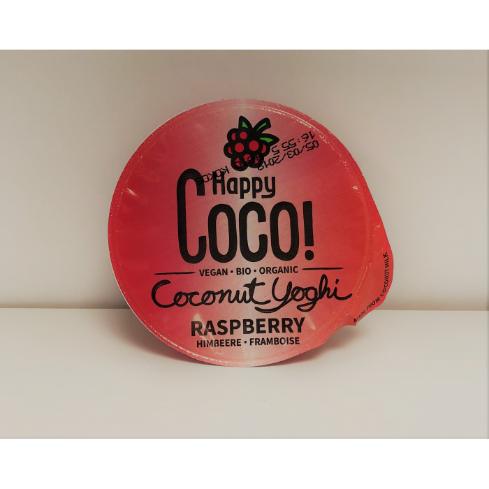 Coconut Yoghi framboise (125 ml)