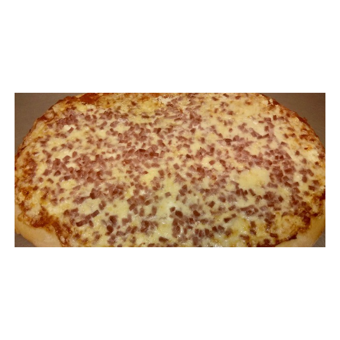 Pizza jambon fromage 1kg550