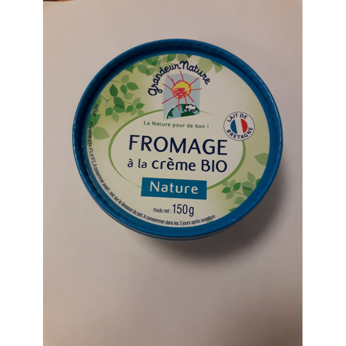 Fromage à tartiner nature 150 gr