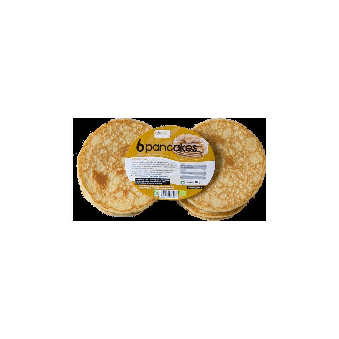 6 pancakes (180 gr)