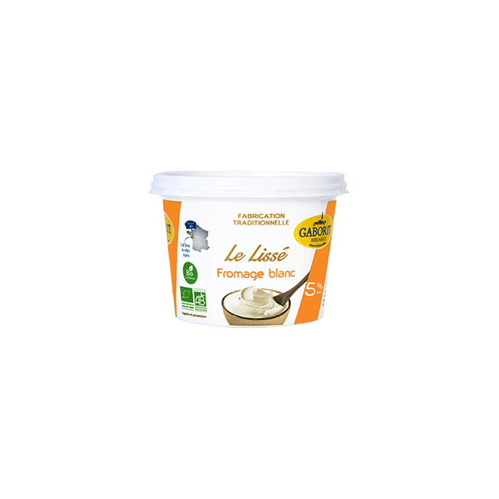 Fromage blanc Lissé 5 % MG (500 g)