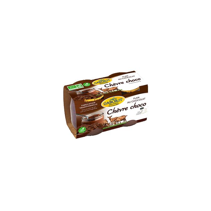 Chèvre-choco, flan au chocolat (2* 125 g)