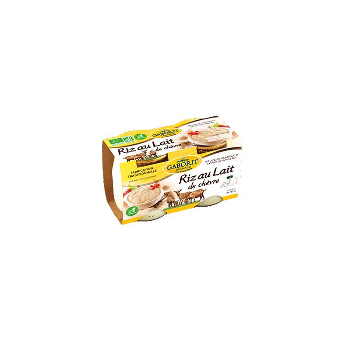 Riz au lait de chèvre (2 x...