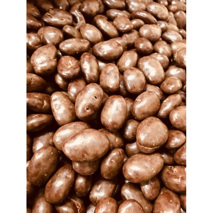 Amandes grillées au chocolat noir enrobées de chocolat au lait(2 kg)