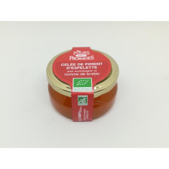 Gelée de piment d'Espelette (120 gr)
