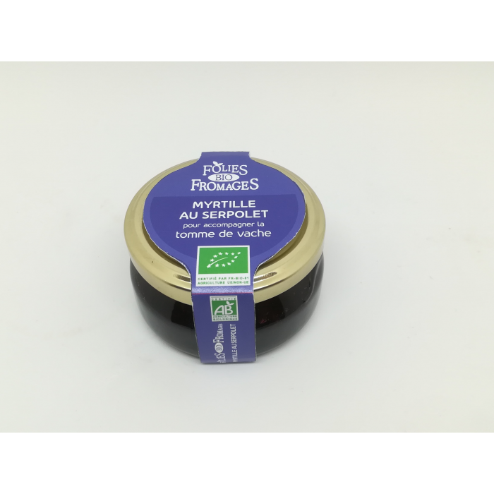 Confit myrtille serpolet  (120 gr)