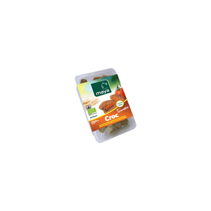 CROC TOMATO - Burger de Seitan à la tomate (2 * 100 gr)