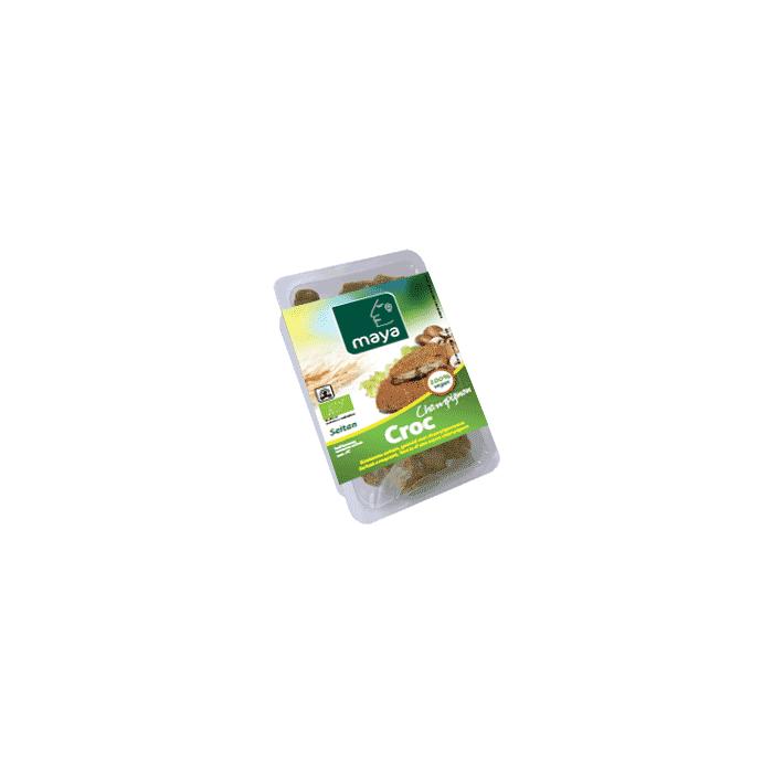 CROC CHAMPIGNON - Burger de Seitan aux champignons (2 * 100 gr)