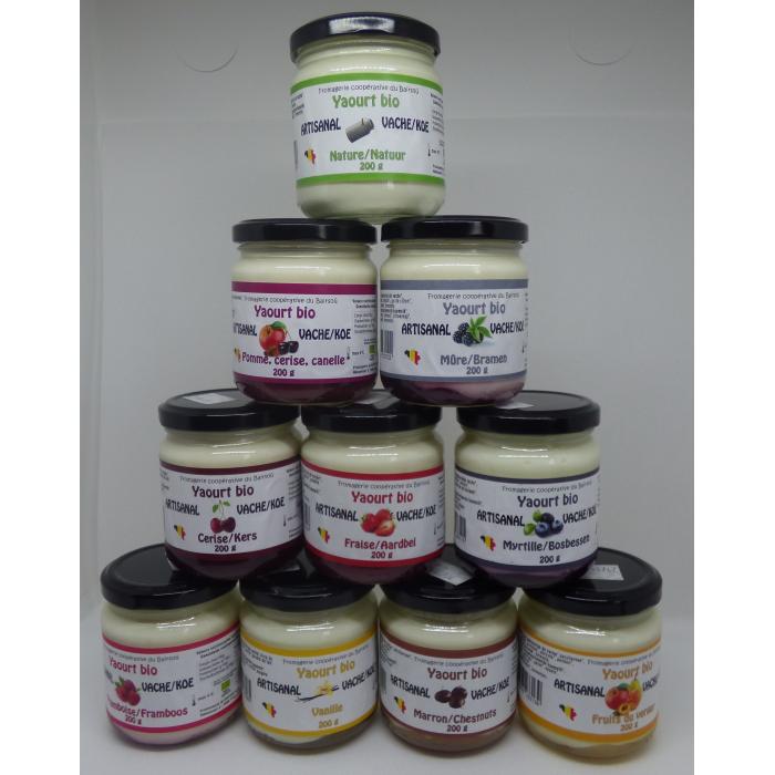 Yaourt vanille (200 gr)
