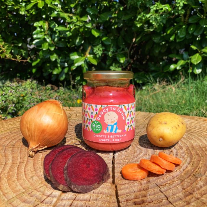 Panade carotte - betterave - 6 M + (230 gr)