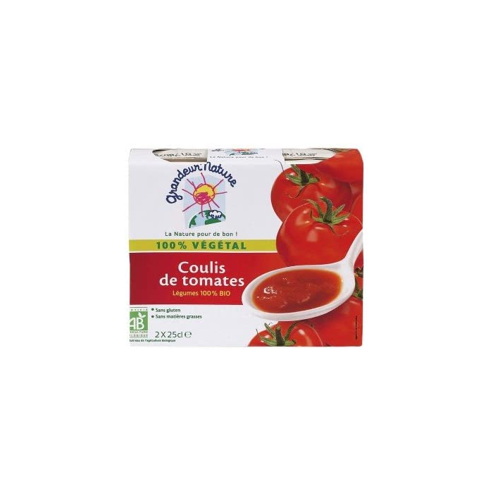 Coulis de tomates (2*30 cl)