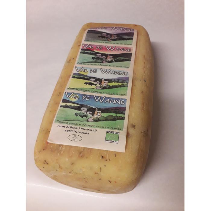 Val de Wanne chèvre Ortie (type pain) (+- 2,5 kg)