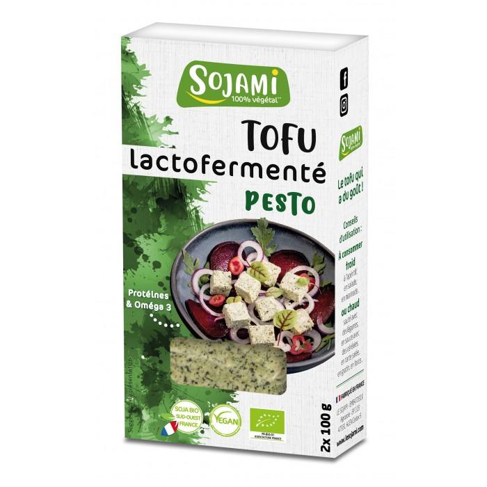 Bloc tofu pesto (2* 100 g)