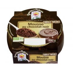 Mousse au chocolat noir...